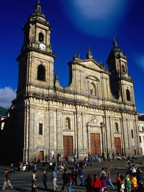 Plaza De Bolivar and Neo-Classical Cathedral (1807-23), Bogota, Colombia by Krzysztof Dydynski
