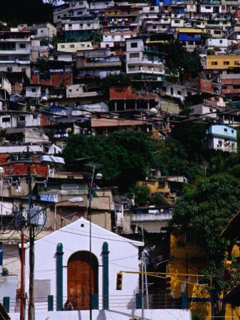 Suburb on Hill in el Hatillo Area, Caracas, Distrito Federal, Venezuela by Krzysztof Dydynski