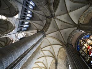 Vault in St Nicholas' Church (Sint-Niklaaskerk) by Krzysztof Dydynski