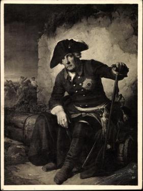 Künstler Julius Schrader, Friedrich II, Schlacht, Köln