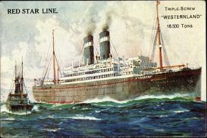 Künstler Red Star Line, Triple Screw Westernland
