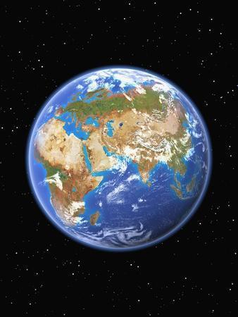 Eastern Hemisphere of Earth