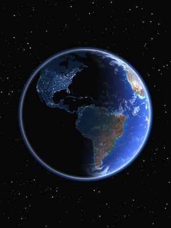 Electric Lights in the Western Hemisphere