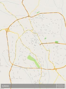 Kumasi, Ghana Map