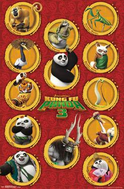 Kung Fu Panda 3 - Grid