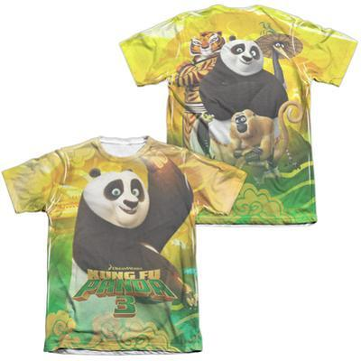 Kung Fu Panda- Po And Friends (Front/Back)