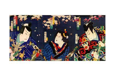 Actors Bando Hikosaburo as Fuha Ban'emon