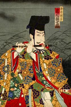 Ichikawa Danjuro as Hirai Yasumasa by Kunichika toyohara