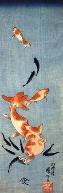 Gold Fish by Kuniyoshi Utagawa