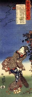 Homing Geese at Kanagawa by Kuniyoshi Utagawa