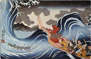 Kuniyoshi: Oban Print by Kuniyoshi Utagawa