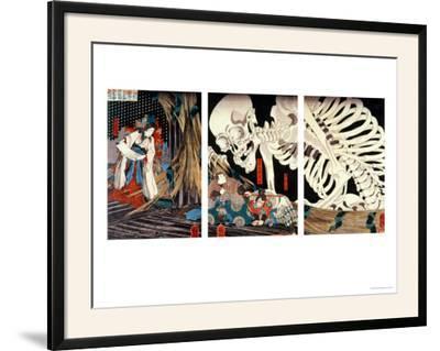 Mitsukini Defying the Skeleton Spectre, circa 1845