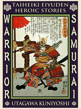 Samurai Minamoto Yoshimoto by Kuniyoshi Utagawa