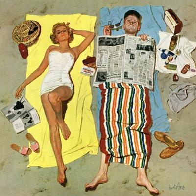 """""""Sunscreen?"""", August 16, 1958"""