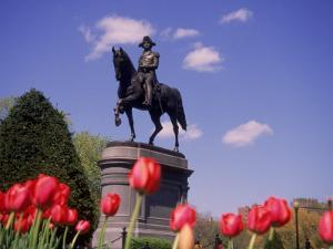 George Washington Statue, Boston Public Gardens by Kurt Freundlinger