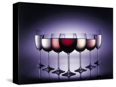 Glasses of Wine by Kurt Freundlinger