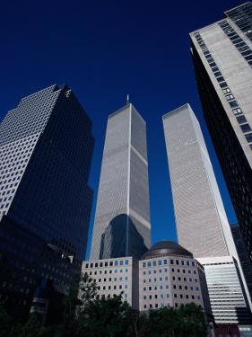 Twin Towers, NYC by Kurt Freundlinger