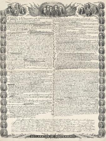 Declaration of Independence by Kurz & Allison