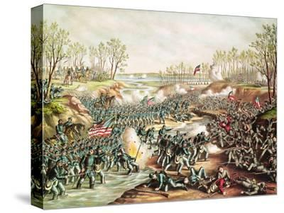 The Battle of Shiloh, 1862 by Kurz And Allison