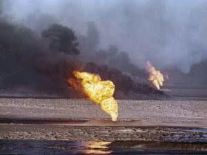 Kuwait Oil Fire