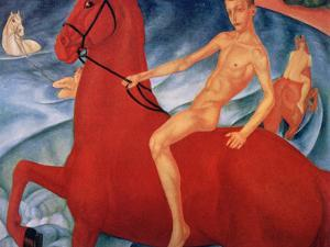 Bathing of the Red Horse, 1912 by Kuz'ma Petrov-Vodkin