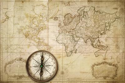 Old Map by Kuzma
