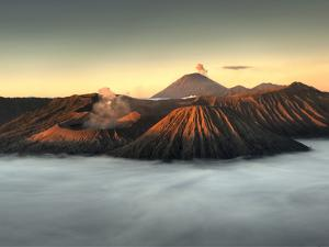 Bromo-Tengger-Semeru National Park on the Island of Java in Indonesia by Kyle Hammons