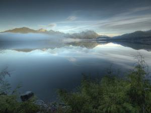Reflection at Kennedy Lake Near the West Coast of Vancouver Island by Kyle Hammons