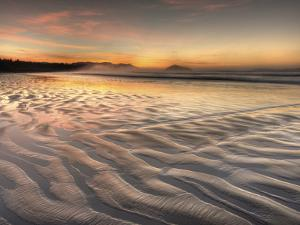 Sunrise at Long Beach in Pacific Rim National Park on the West Coast of Vancouver Island by Kyle Hammons