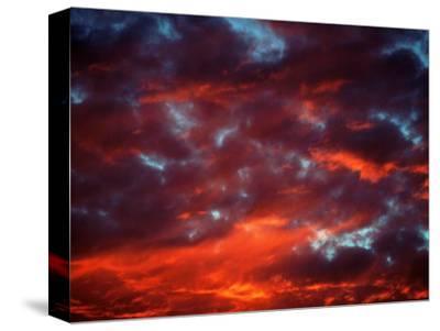 Clouds in Red Sky, Truckee, CA by Kyle Krause