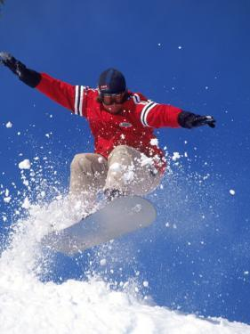 Snowboarding, Squaw Valley, CA by Kyle Krause