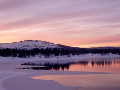 Sunset, Boca Reservoir, Truckee, CA by Kyle Krause