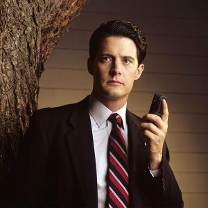 "KYLE MacLACHLAN. ""Twin Peaks"" [1990], directed by DAVID LYNCH."
