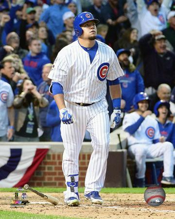 Kyle Schwarber hits a solo Home Run Game 4 of the 2015 National League Division Series