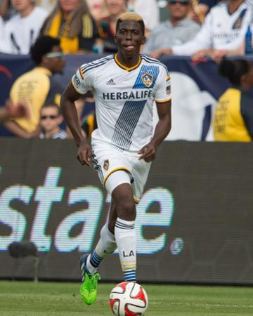2014 MLS Cup Final: Dec 7, New England Revolution vs LA Galaxy - Gyasi Zardes by Kyle Terada