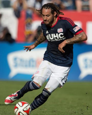 2014 MLS Cup Final: Dec 7, New England Revolution vs LA Galaxy - Jermaine Jones by Kyle Terada