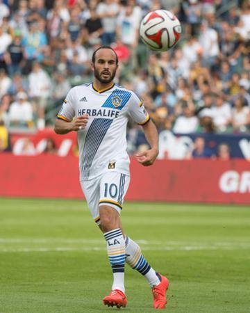 2014 MLS Cup Final: Dec 7, New England Revolution vs LA Galaxy - Landon Donovan by Kyle Terada