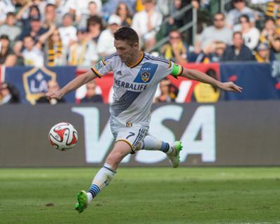 2014 MLS Cup Final: Dec 7, New England Revolution vs LA Galaxy - Robbie Keane by Kyle Terada