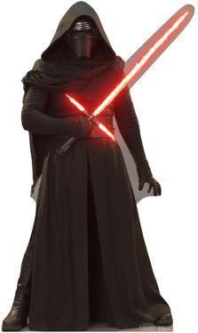 Kylo Ren - Star Wars VII: The Force Awakens Lifesize Cardboard Cutout
