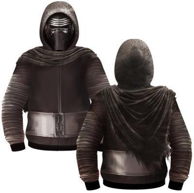 Kylo Ren Sublimated Costume Zip Hoodie