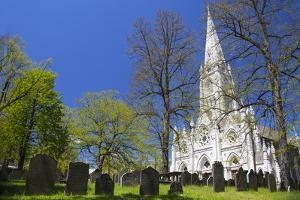 Canada, Nova Scotia, Halifax. Saint Mary's Cathedral Basilica. by Kymri Wilt