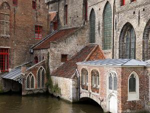 Canals, Bruges, Belgium by Kymri Wilt