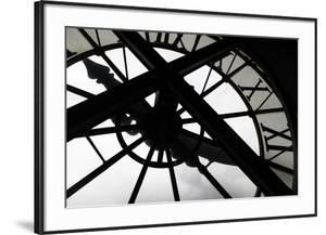 Clock at Musee D'Orsay, Paris, France by Kymri Wilt