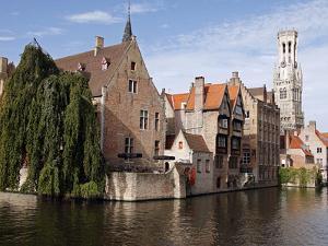Rozenhoedkaai View, Bruges, Belgium by Kymri Wilt