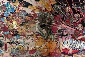 Wonderful Mirror of Japanese Soul by Kyosai Kawanabe