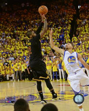 Kyrie Irving Three Pointer Game 7 of the 2016 NBA Finals
