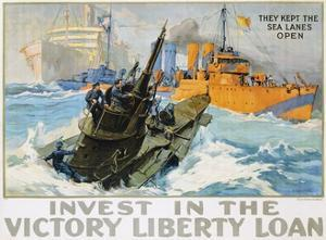 Invest in the Victory Liberty Loan Poster by L.a. Shafer