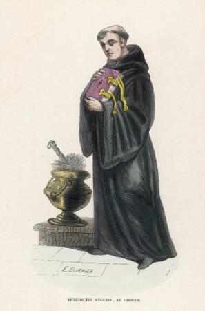 Benedictine Monk in England