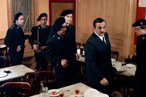 L'ARMEE DES OMBRES, 1969 directed by JEAN-PIERRE MELVILLE Lino Ventura (photo)