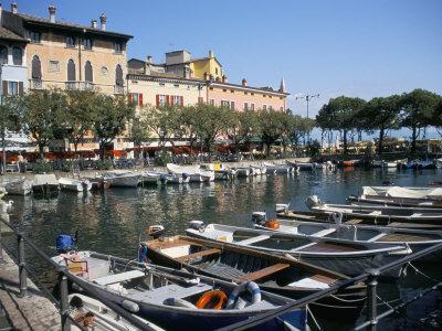 Harbour View, Desenzano, Lake Garda, Italian Lakes, Italy